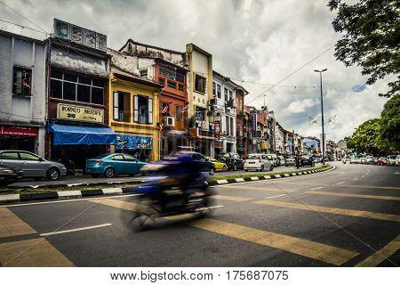 Kuching, Malaysia Street