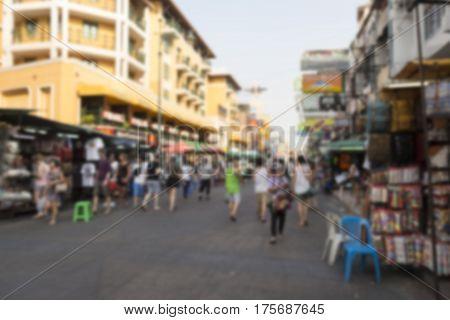 Blur Khao San Street