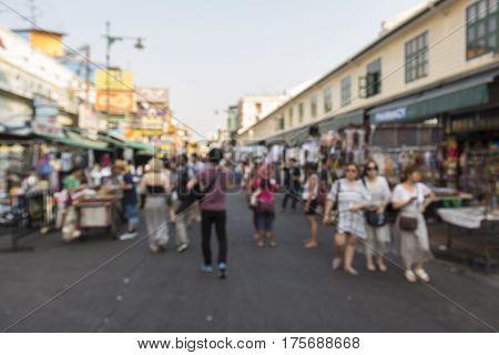 Blur Khao San Background