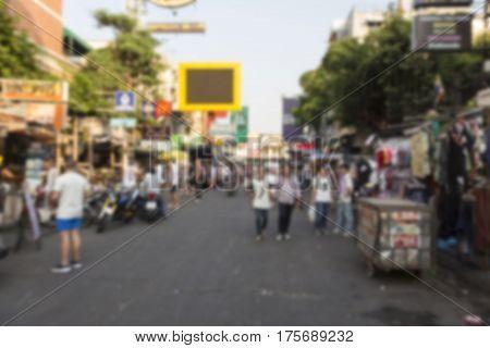 Background Khao San Road