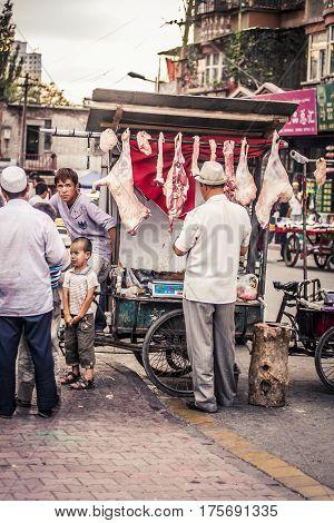 Urumqi Street Scenes