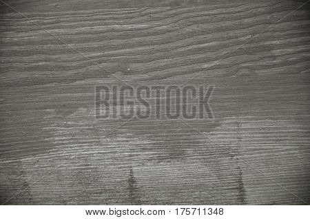 Gray wood texture. Gray wood background. Close up view of gray wood texture and background. Abstract background and texture for designers. Rustic table. Texture of handmade gray table.