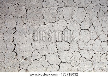 Drought, the ground cracks, no water, lack of moisture ground texture