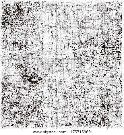 Vector brush stroke texture background (black & white)