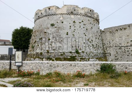 Castle Of Monte Sant'angelo On Puglia