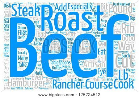 A Good Steak Is Hard To Find text background wordcloud concept