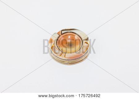 onyx ashtray from an onyx desk set