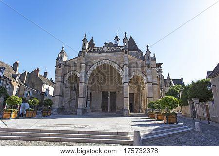 Church Called Notre Dame De Beaune