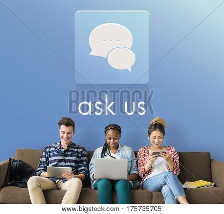 Ask Us Assistance Contact Consult Concern