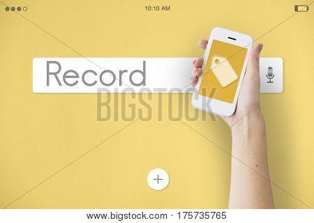 Enter Record Unlock Explore Access Talk