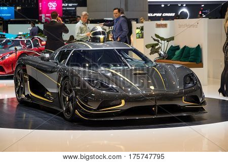 Koenigsegg Agera Rs Gryphon Sports Car