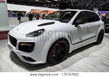 Porsche Cayenne Turbo S Techart Magnum Suv Car