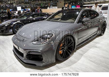 Porsche Panamera Techart Grand Gt Sports Car