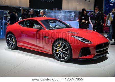 Jaguar F-type Svr Coupe Sports Car