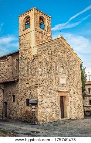 Small Mediaval Church