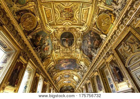 Gallery Of Apollon, The Louvre, Paris, France