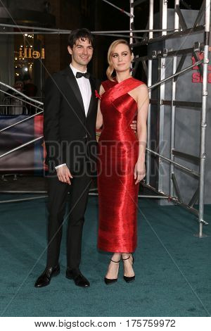 LOS ANGELES - MAR 8:  Alex Greenwald, Brie Larson at the
