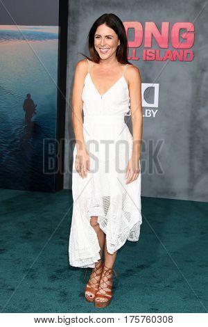 LOS ANGELES - MAR 8:  Joslyn Davis at the