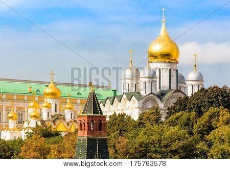 Cathedral of the Archangel Michael in Moscow Kremlin