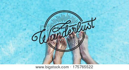 Wanderlust Travel Tour Expedition Concept