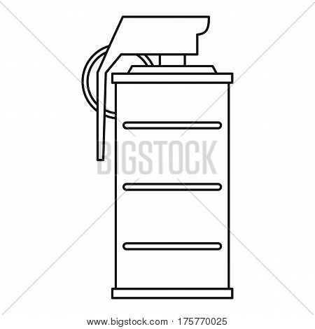 Spray icon. Outline illustration of spray vector icon for web