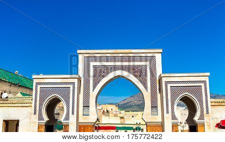 New Rcif Gate in Medina of Fes - Morocco