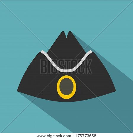 Forage cap icon. Flat illustration of forage cap vector icon for web