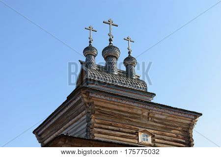 Old Orthodox Church In The Park