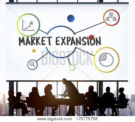 Business Marketing Research Illustration Graphics Concept