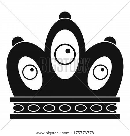 Queen crown icon. Simple illustration of queen crown vector icon for web