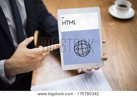 HTML HTTP Homepage Technology Icon