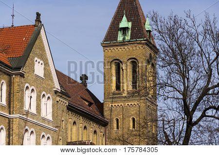 Annunciantion Church Of Saint Gabriel In Prague, Czech Republic