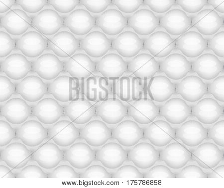 Bubble wrap seamless pattern vector illustration background
