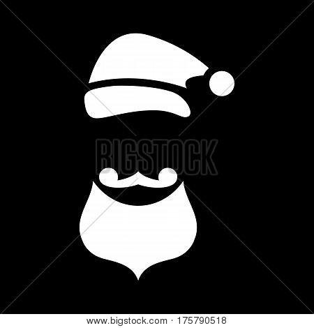 Christmas costume icon. Simple illustration of christmas costume vector icon for web