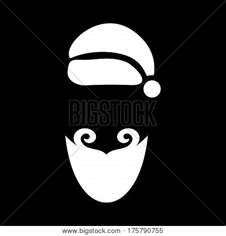 December costume icon. Simple illustration of december costume vector icon for web