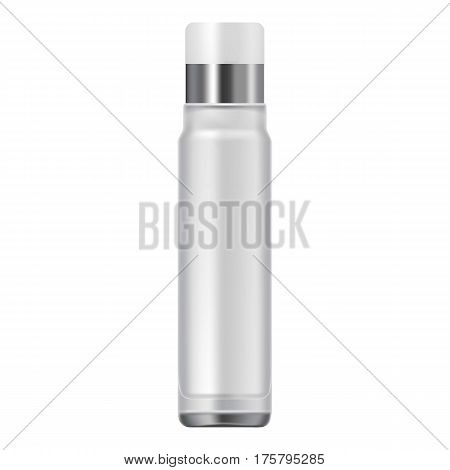 Spray tube icon. Realistic illustration of spray tube vector icon for web