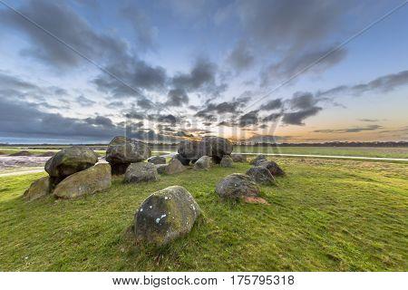 Hunnish Megalithic Dolmen