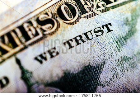 Fifty Dollar Bill - Macro Nb. 16
