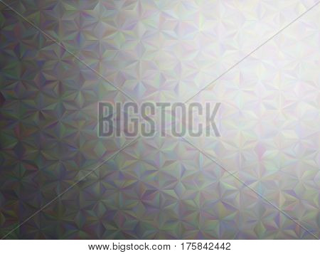 Vector illusion of radial blur effect. Abstract background with iridescent mesh gradient. Colorful noise, special effect. Colorful shades. Visual illusion of oil paintings. Vector EPS10