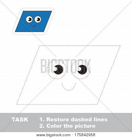 Parallelogram Shape  Vector & Photo (Free Trial) | Bigstock