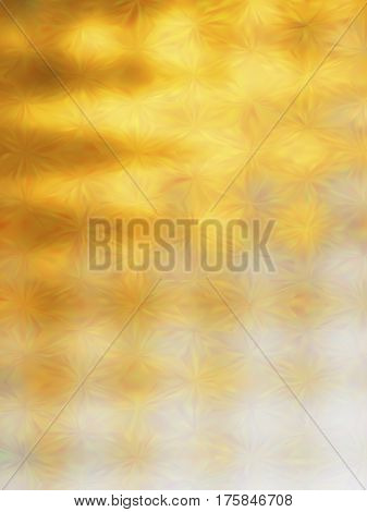 Vector EPS10 gold metal effect. Abstract background with iridescent mesh gradient. Colorful shades. Visual illusion of golden metal surface. Triangle tiles, low poly. Polygonal art pattern
