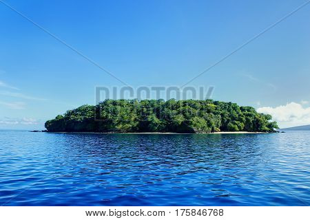 Small Island Off The Coast Of Taveuni, Fiji