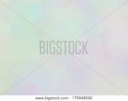 Blurred defocused iridescent background. Trendy digital noise. Spotted surface. Abstract spotted composition, vector EPS10. Not trace image, include mesh gradient only