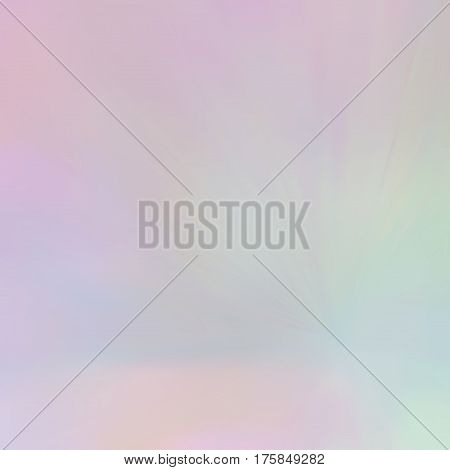 Blurred rays. Defocused iridescent background. Spotted surface. Abstract composition, vector EPS10. Not trace image, include mesh gradient only