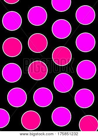Orbs Backgrounds And Geometric Pattern For Modern Concept