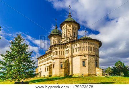 Cetatuia monastery in Iasi  city, Moldavia Romania