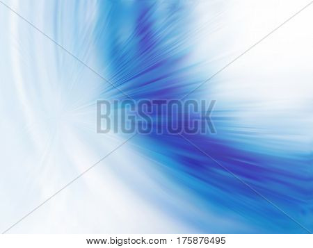 Illusion of radial blur effect. Abstract background with motion blur. Visual illusion of oil paintings. Not trace image, include mesh gradient only. Vector EPS10