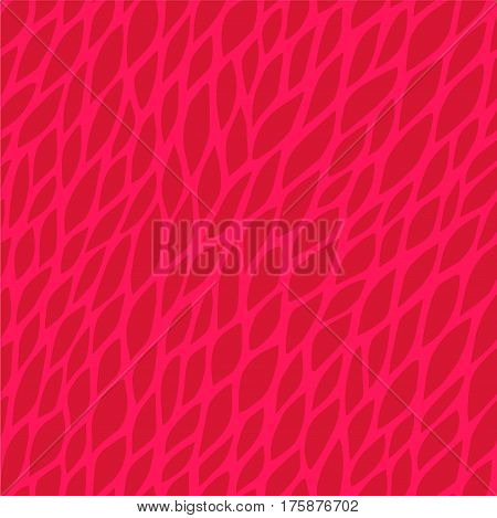 Vector seamless pattern for background. Repeating vector abstract background. Abstract red floral pattern. Seamless red abstract square pattern. Vector repeating seamless red texture. Leaf pattern