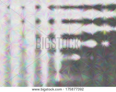 Multicolor shades of grey spots. Abstract background with iridescent mesh gradient. Colorful noise, special effect. Colorful shades. Low poly art, vector EPS10