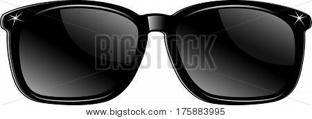 Sunglasses vector illustration background. Sunglasses vector illustration background